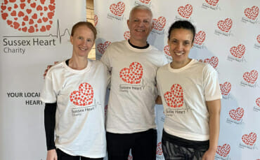 Our New Partner – Sussex Heart Charity